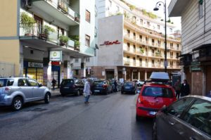 Vendesi appartamento con giardino C.so Vittorio Emanuele Napoli