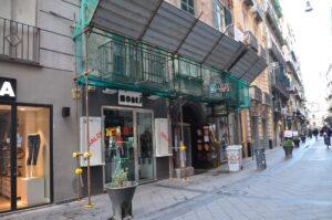 Affittasi appartamento via Chiaia 2 vani più acc.